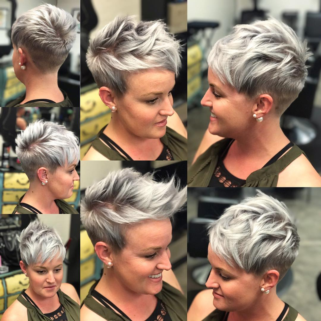 Best Short Hairstyles For Women Over 40 Chic Pixie Haircut