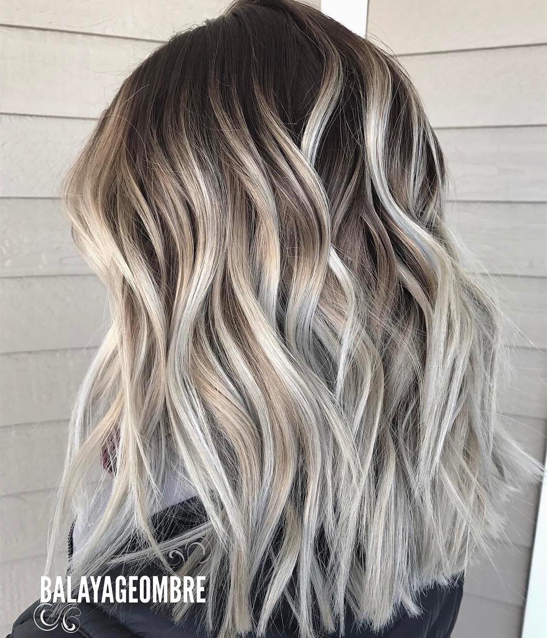 10 Best Medium Layered Hairstyles 2018 Brown Amp Ash Blonde