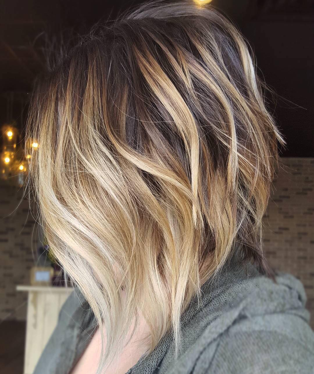 10 cute medium hairstyles with gorgeous color twists - medium
