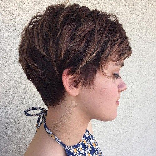 Long Pixie Hairstyles Cut With Bangs Hairstyle 2018