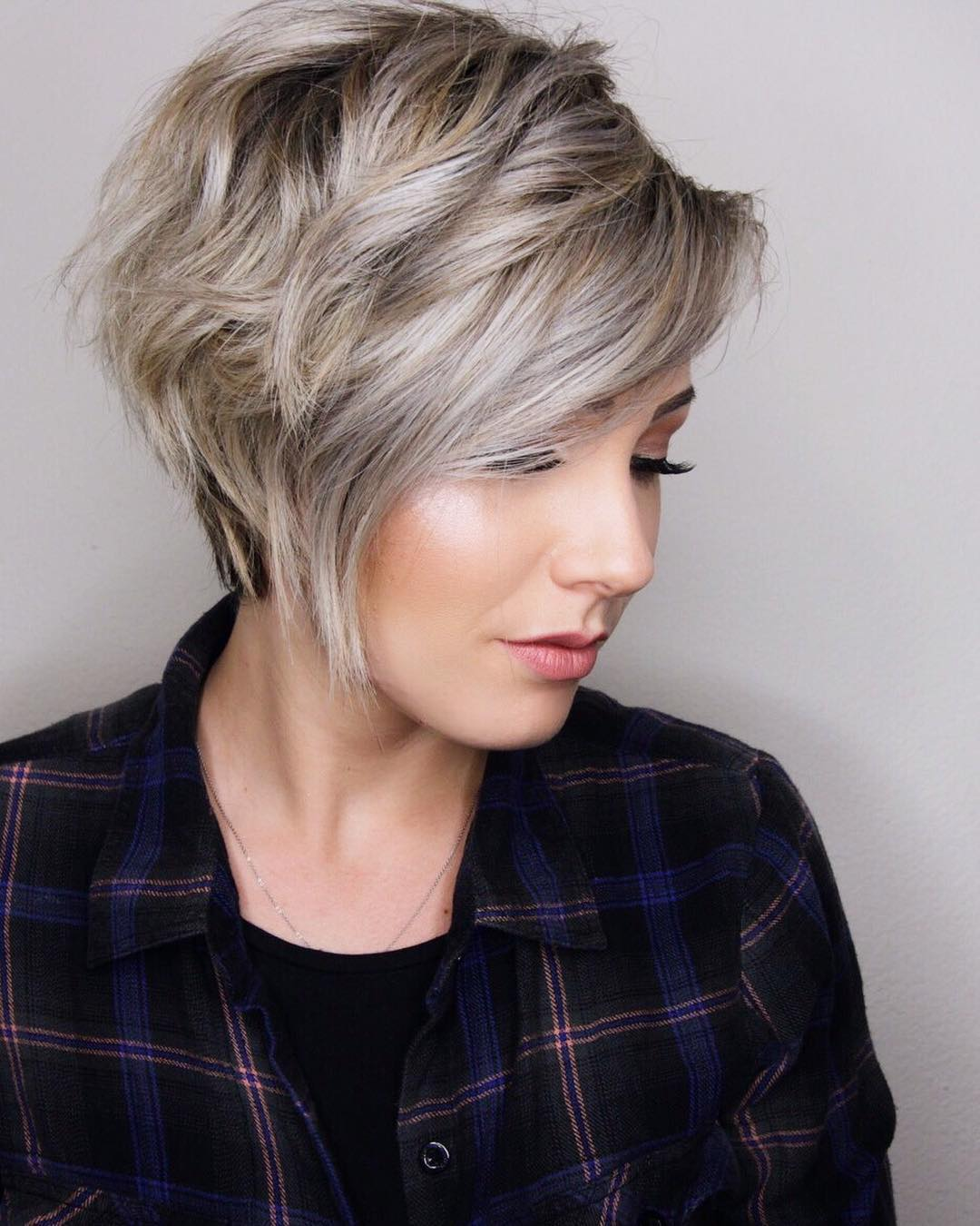 Short Hairstyles 2017 2018: 10 Trendy Layered Short Haircut Ideas 2019