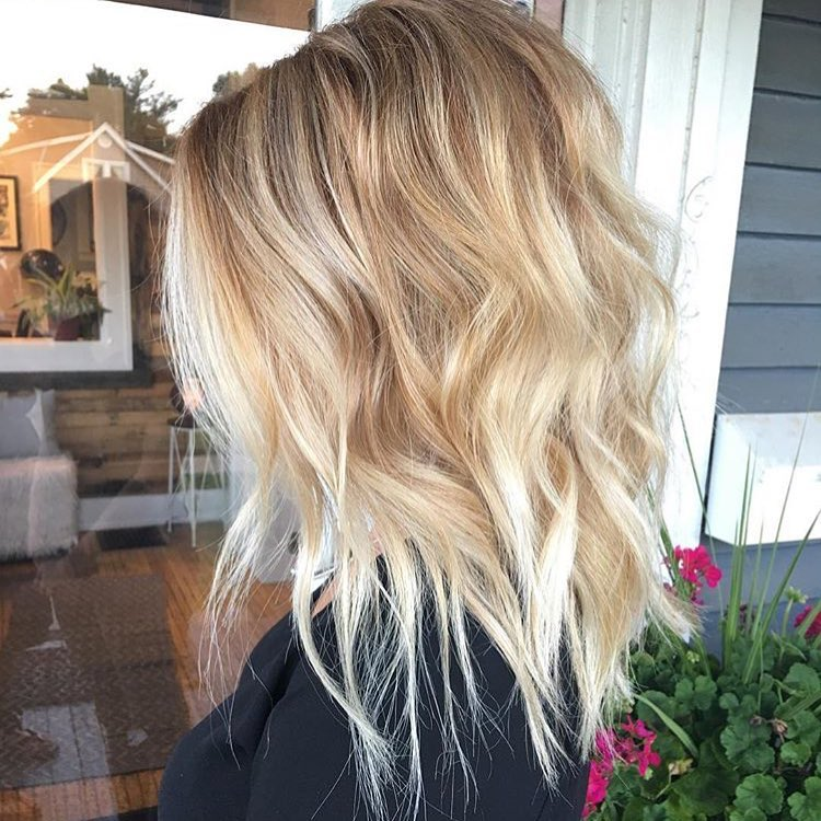 Medium hairstyles for women long hair