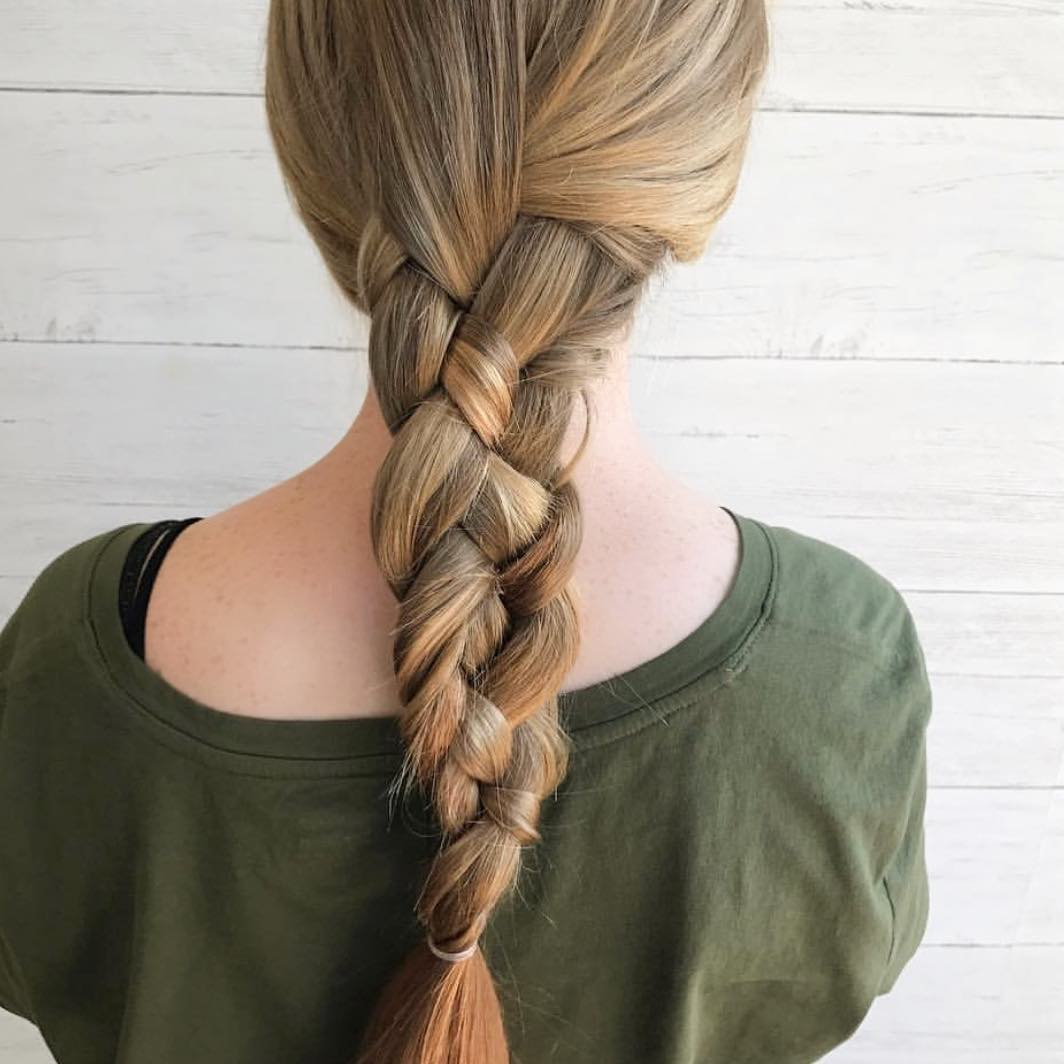 Pretty Braided Hairstyle Designs, Braid Hair Styles for Women