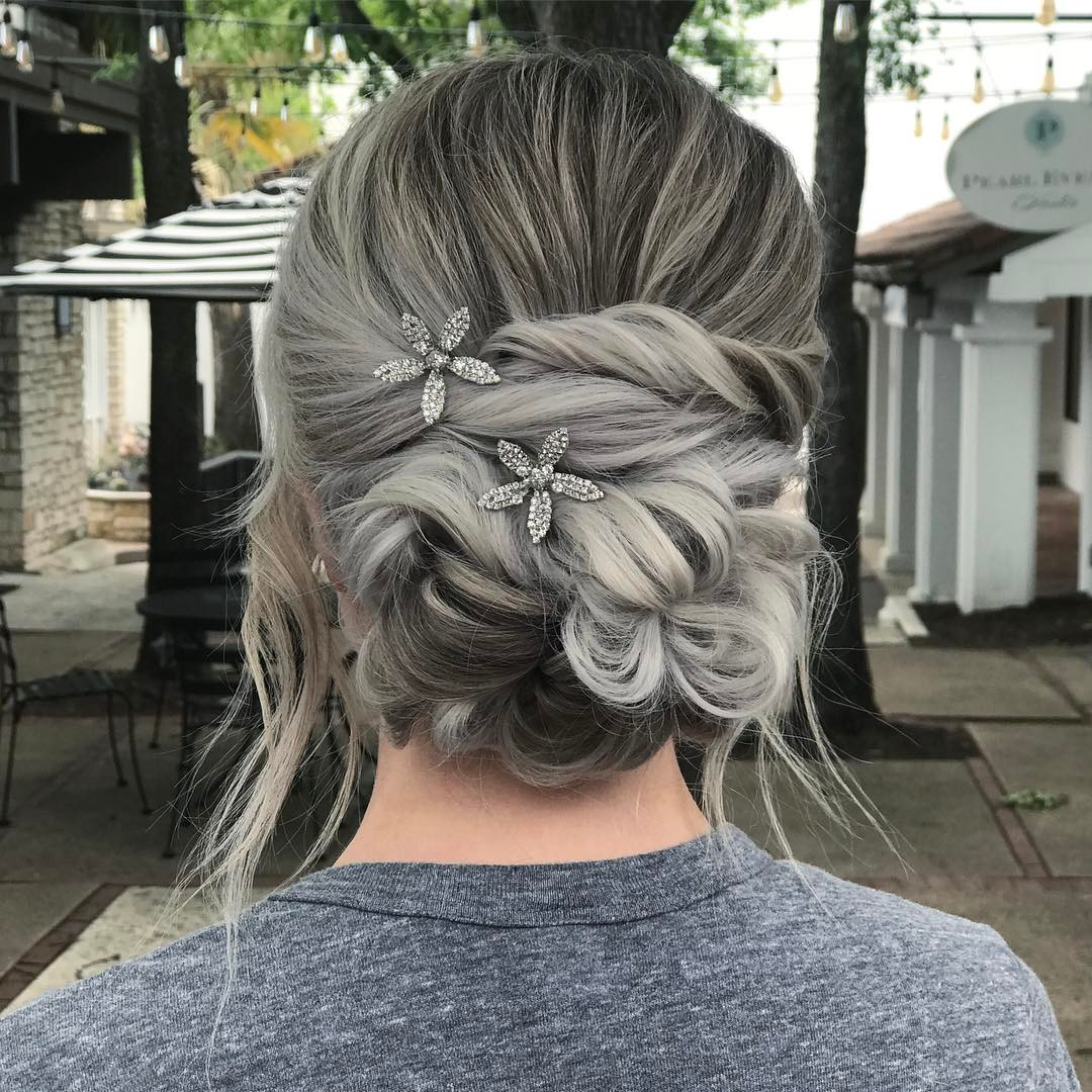 10 New Prom Updo Hair Styles 2019 - Gorgeously Creative ...