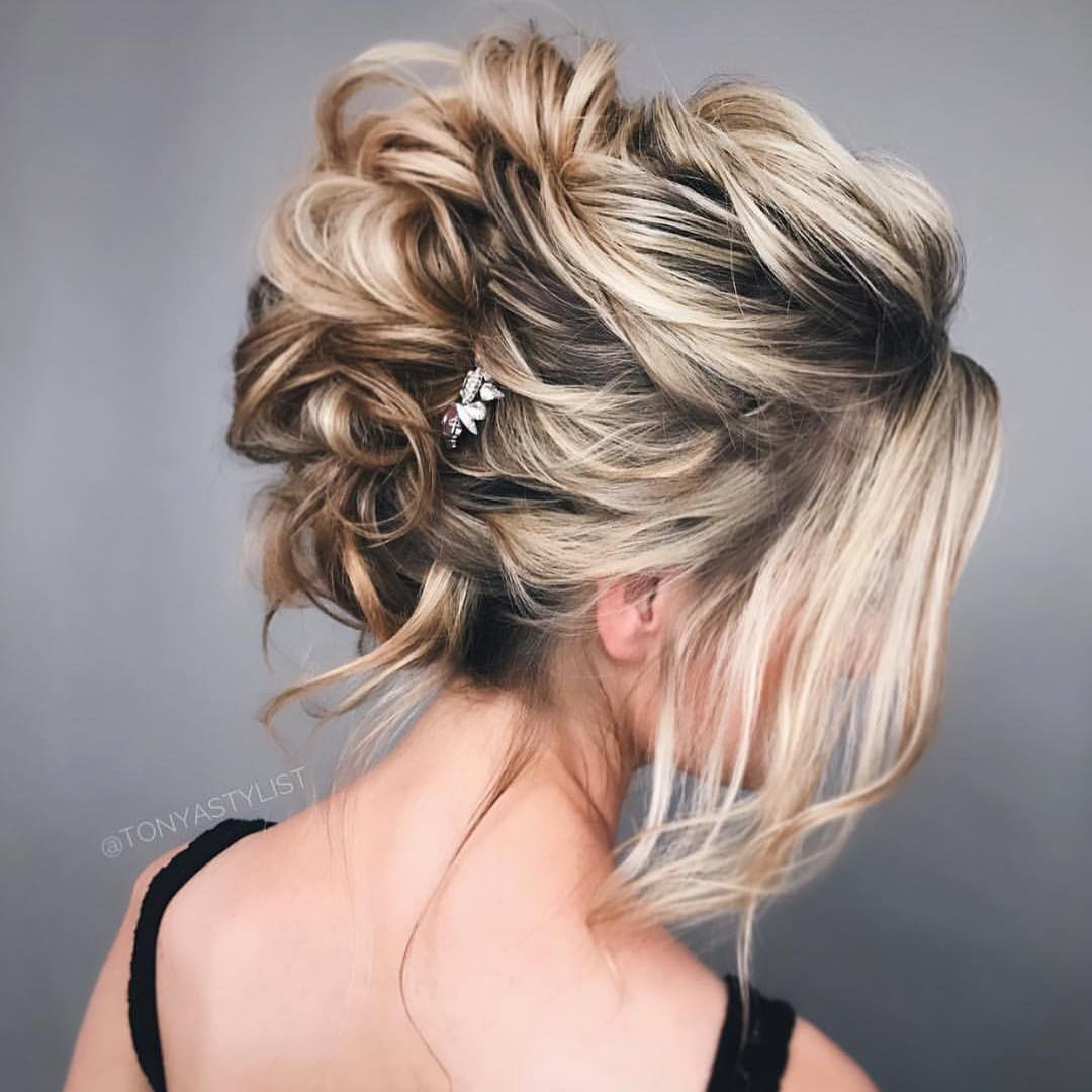 Pretty Updo Hair Styles Prom Hairstyles