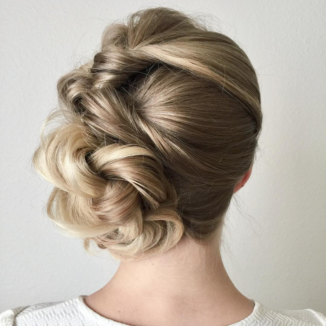 10 New Prom Updo Hair Styles For 2018 Gorgeously Creative New Looks
