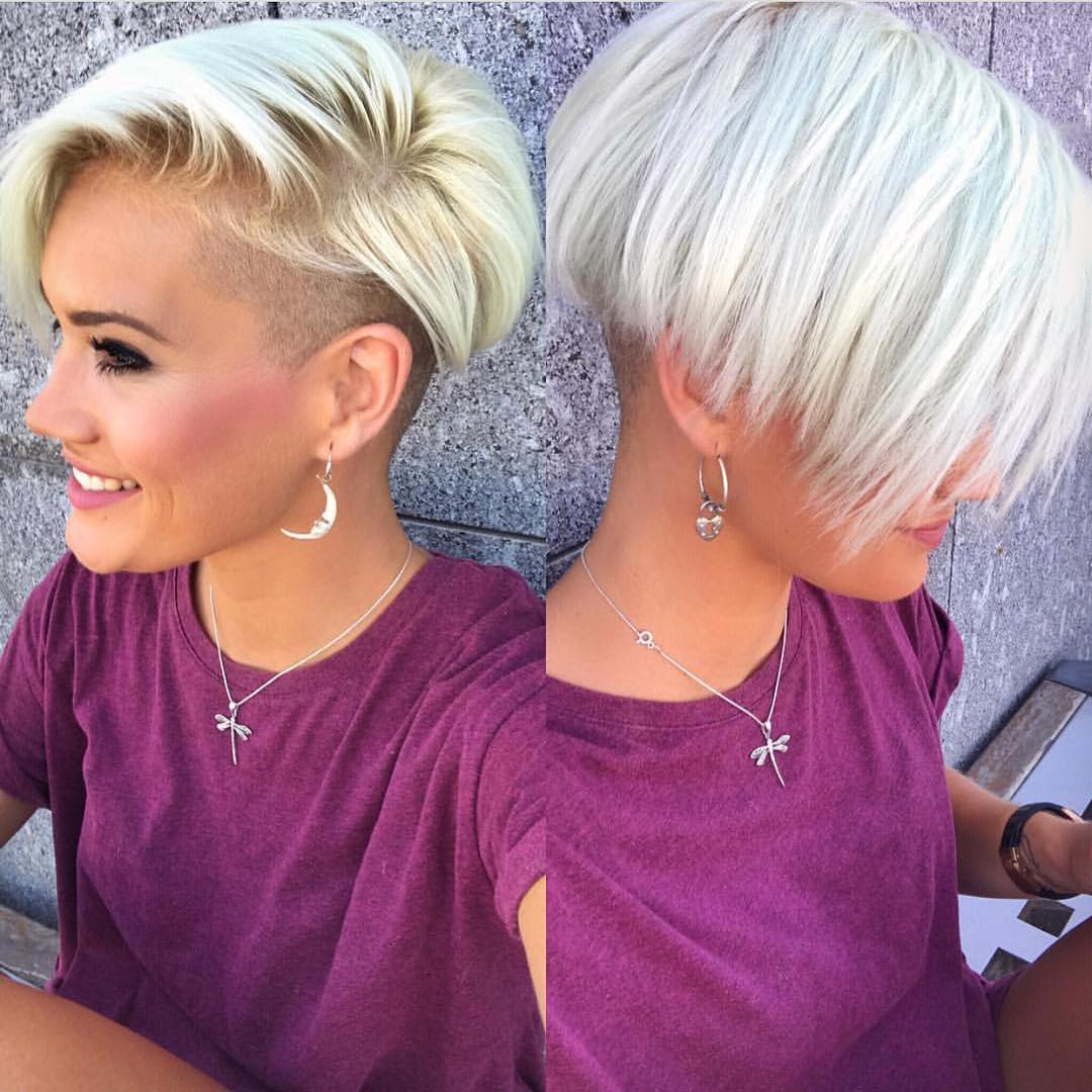 10 Chic Shaved Haircuts For Short Hair 2020