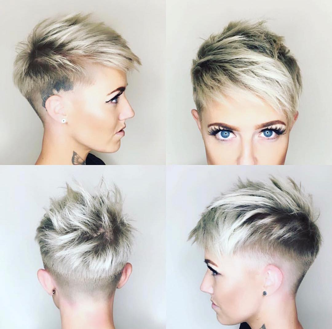 10 Shaved Haircuts for Short Hair – Sassy, Edgy & Chic - crazyforus