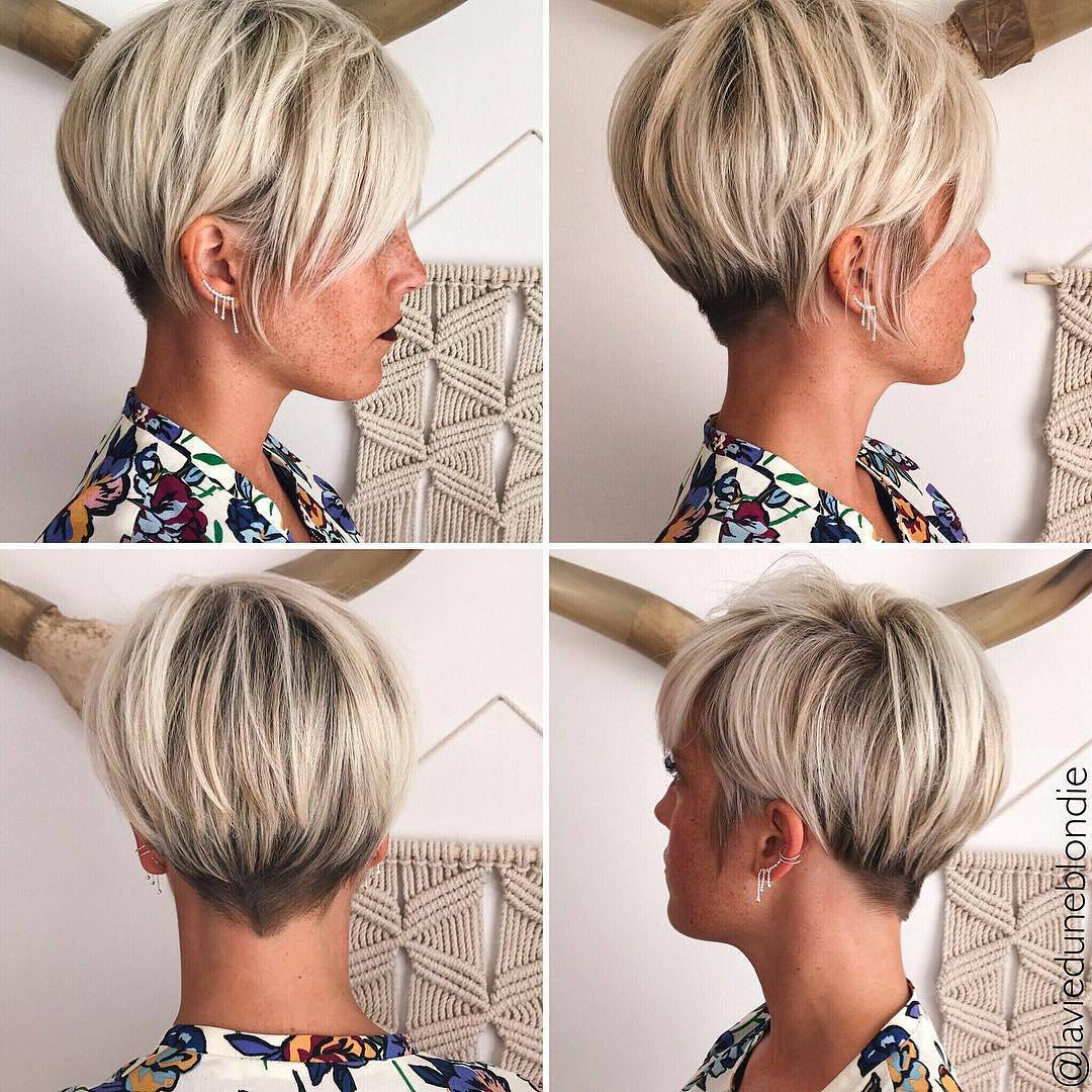 10 Latest Pixie Haircut For Women 2018 Short Haircut Ideas With A