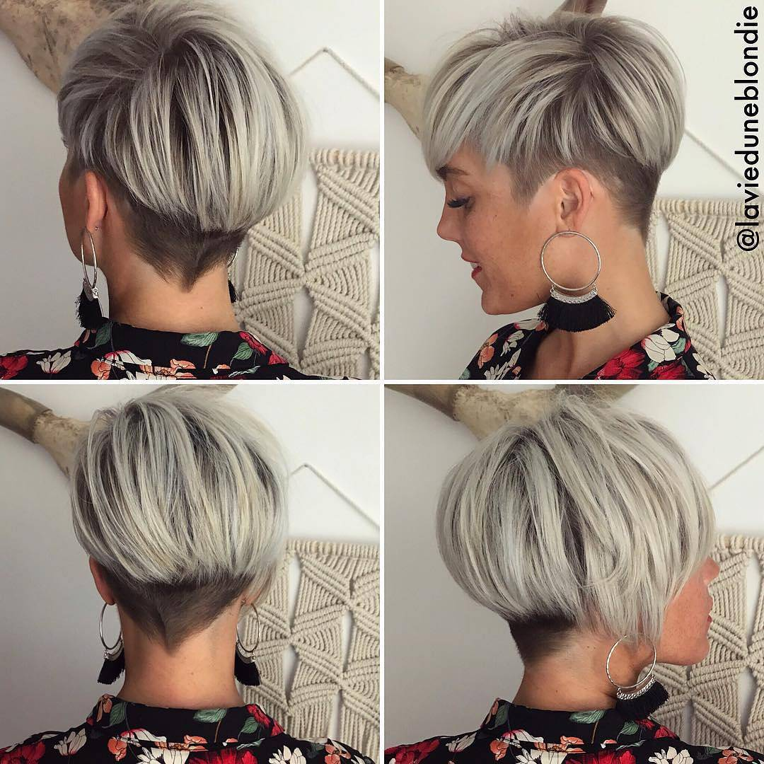 10 Long Pixie Haircuts 2018 For Women Wanting A Fresh Image Short Hair