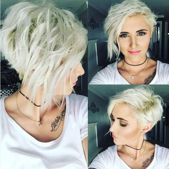 Stylish Messy Hairstyles For Short Hair Women Short Haircut Ideas Popular Haircuts