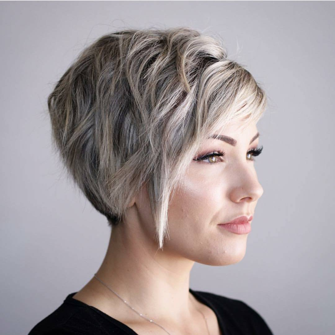 10 hi-fashion short haircut for thick hair ideas- 2018 women short