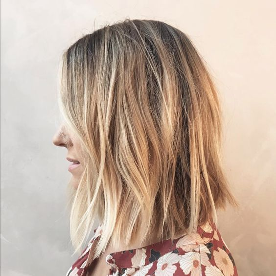 10 Messy Medium Hairstyles For Thick Hair 2019