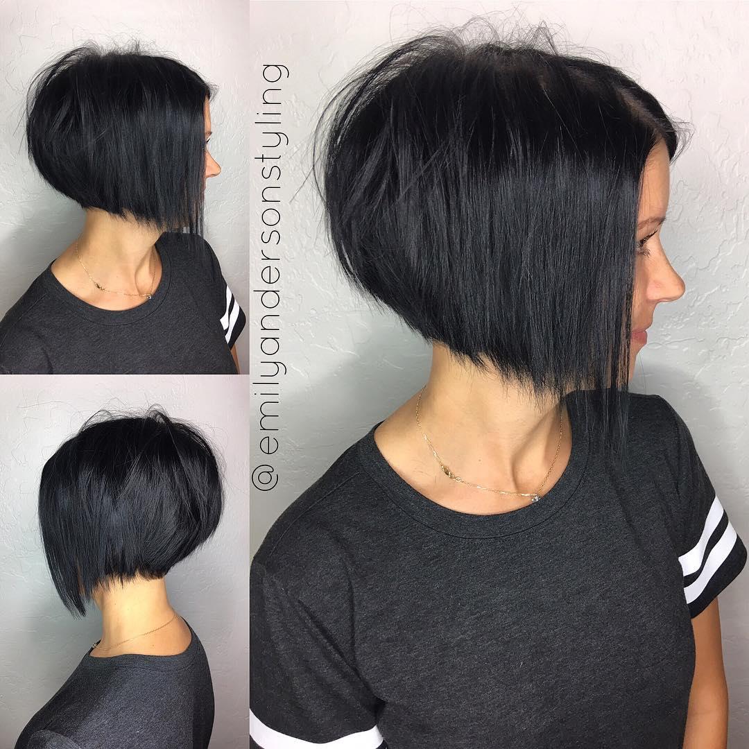 10 Latest Inverted Bob Haircuts 2018 Short Hairstyle High Fashion