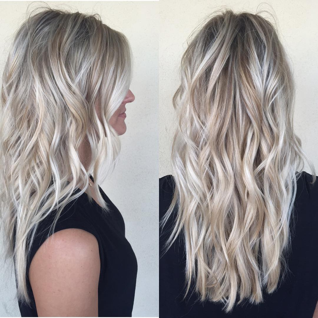Cutting Hairstyles For Long Hair and cool hair color