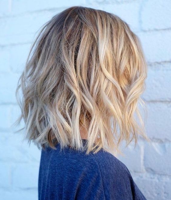 Trendy Medium Hairstyle, Women Shoulder Length Haircut Ideas