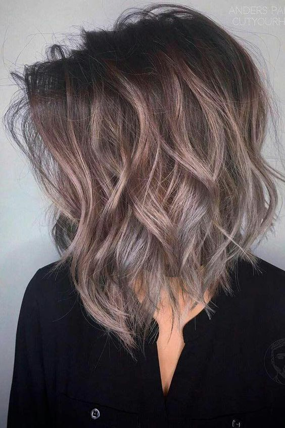 10 Trendy Medium Hairstyles Top Color Designs 2019