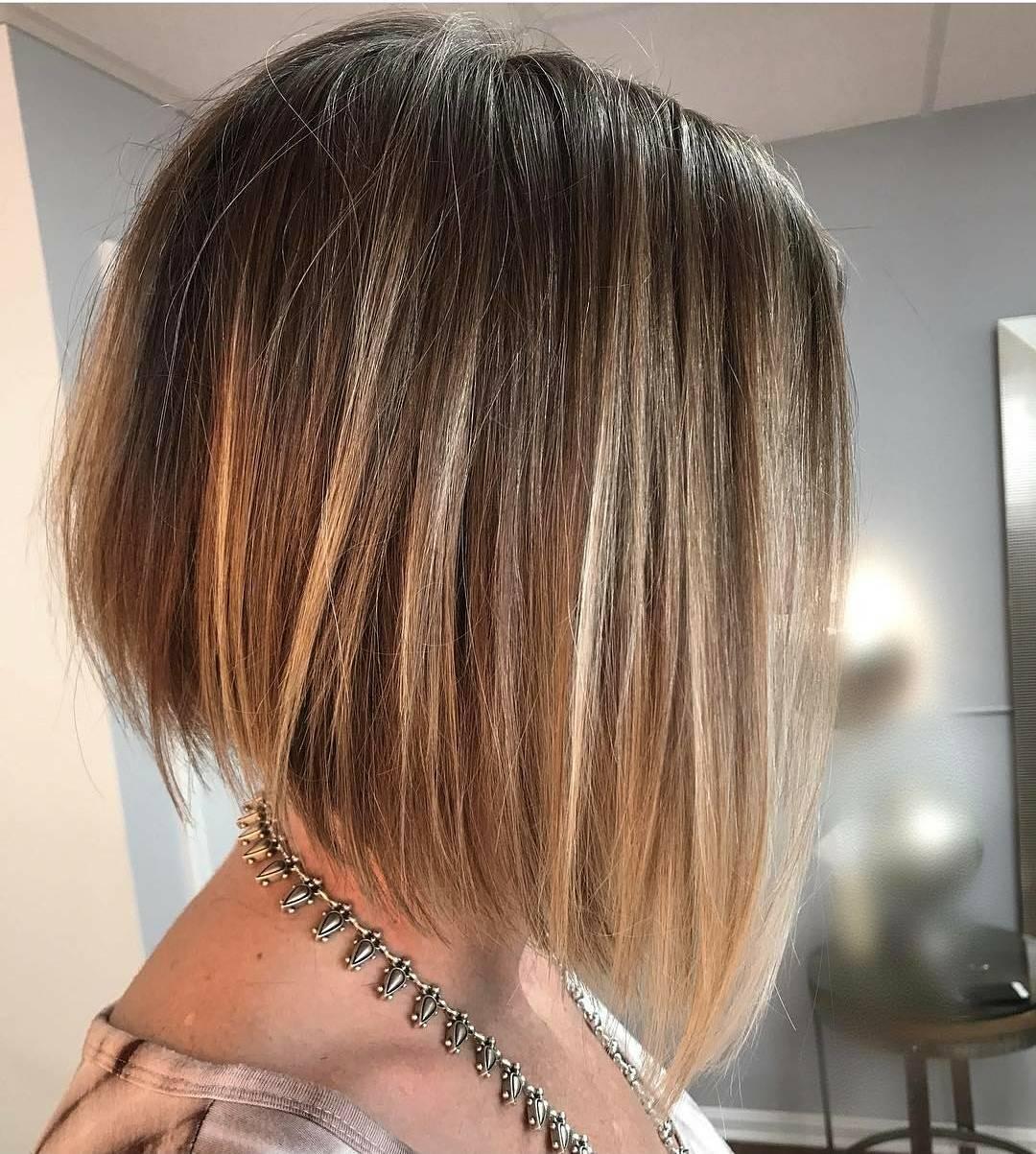 10 flattering short straight hairstyles, 2018 latest short haircut