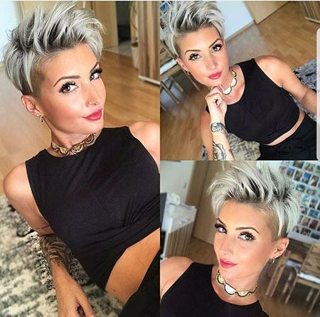 Short Shag Hairstyles, Women Simple Haircut for Short Hair