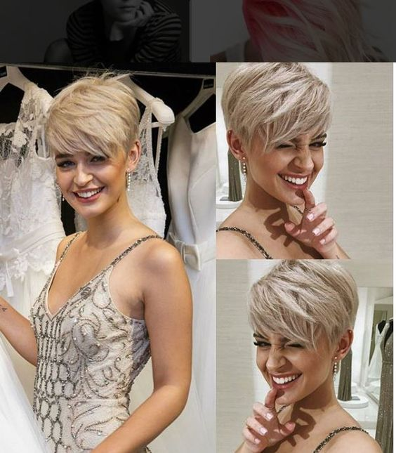 Pixie Hair Style Wedding: 10 Trendy Pixie Hair Cut For Blondes & Brunettes 2020