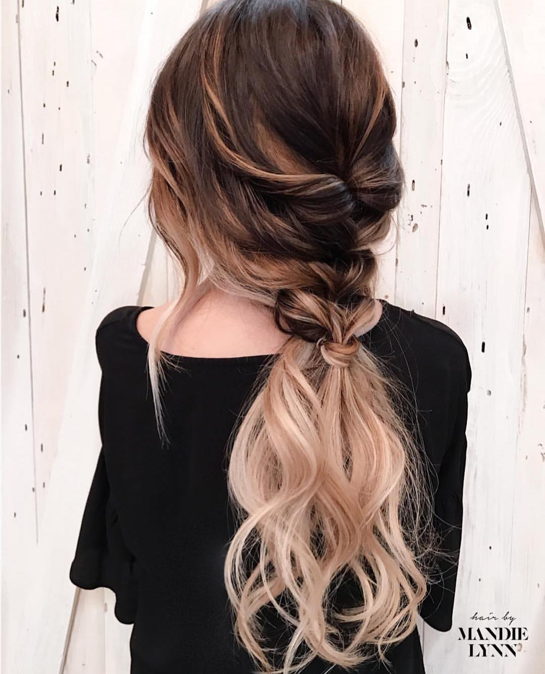 10 Trendiest Ponytail Hairstyles for Long Hair 2020 - Easy Ponytails