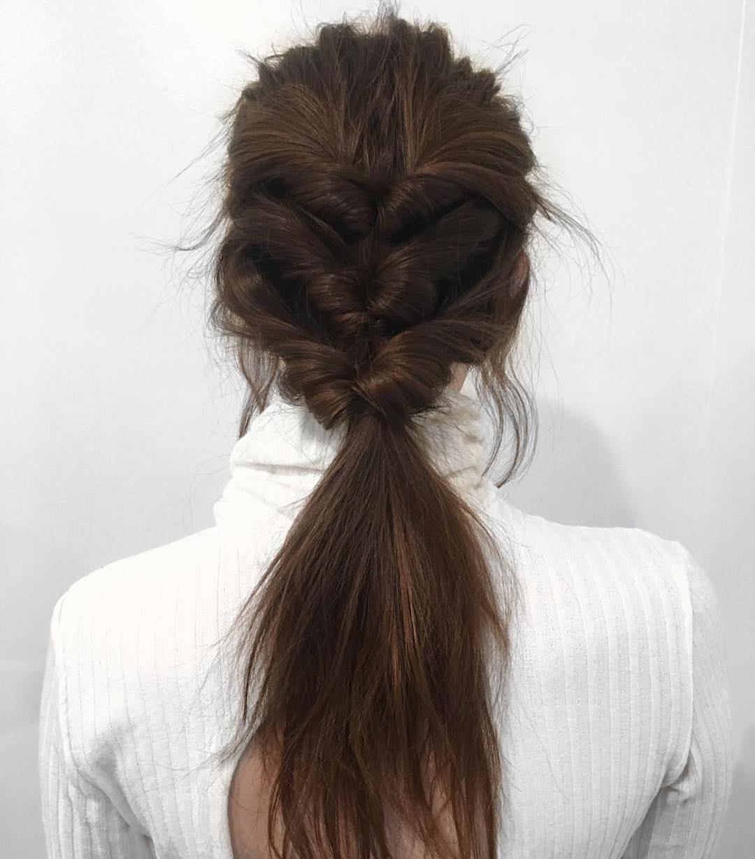 Trendiest Ponytail Hairstyle for Long Hair, Easy Ponytails
