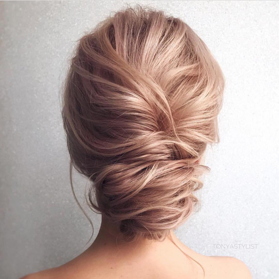 10 Updos For Medium Length Hair From Top Salon Stylists 2018 Prom Updo