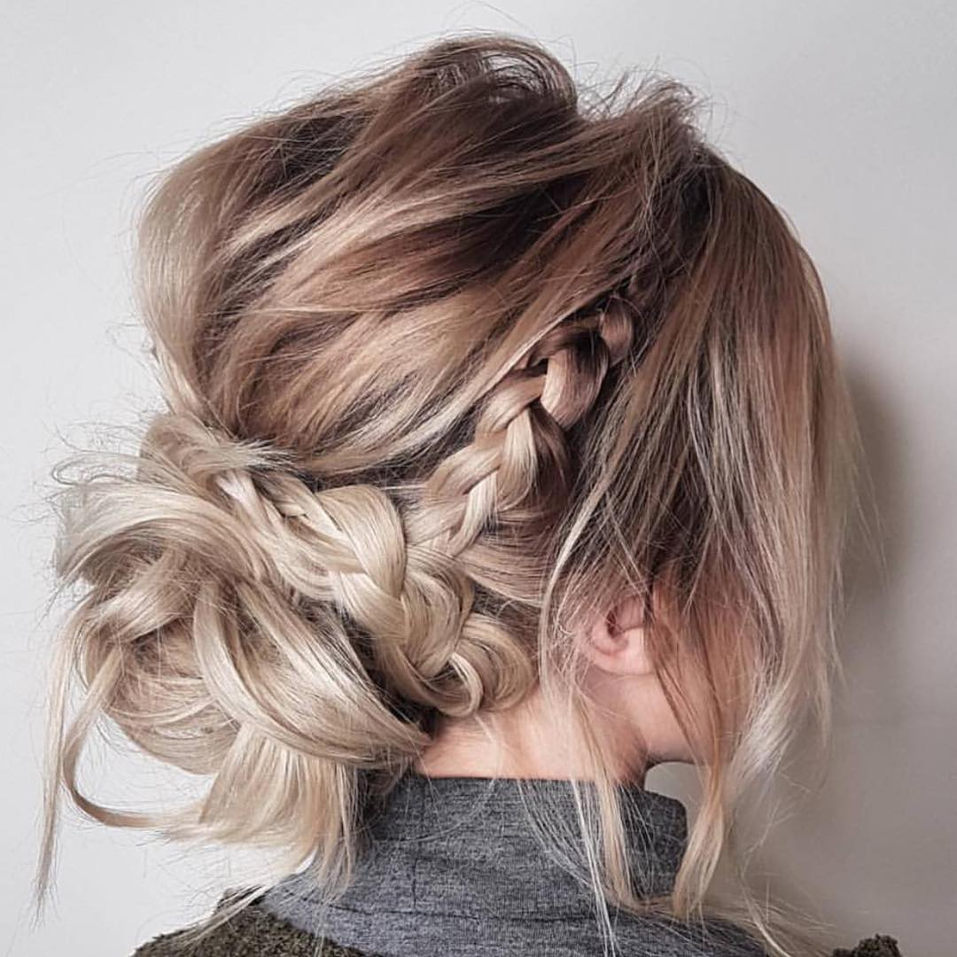 Trendy Updos For Medium Length Hair Updo Hairstyle Ideas
