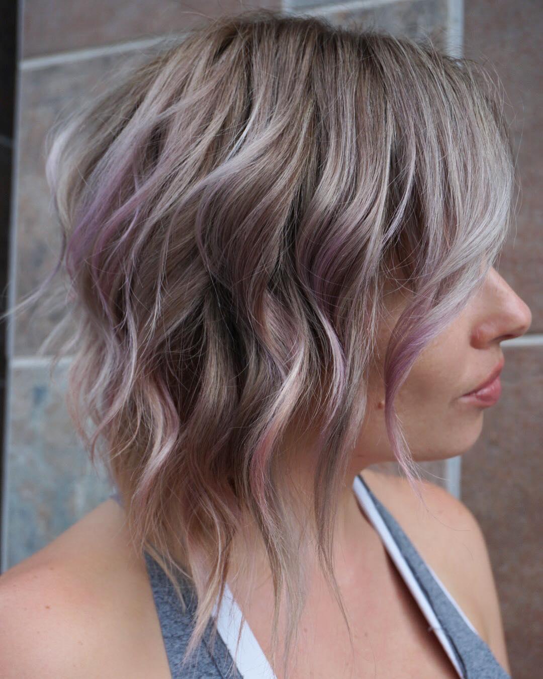 10 balayage hair styles for medium length hair 2020