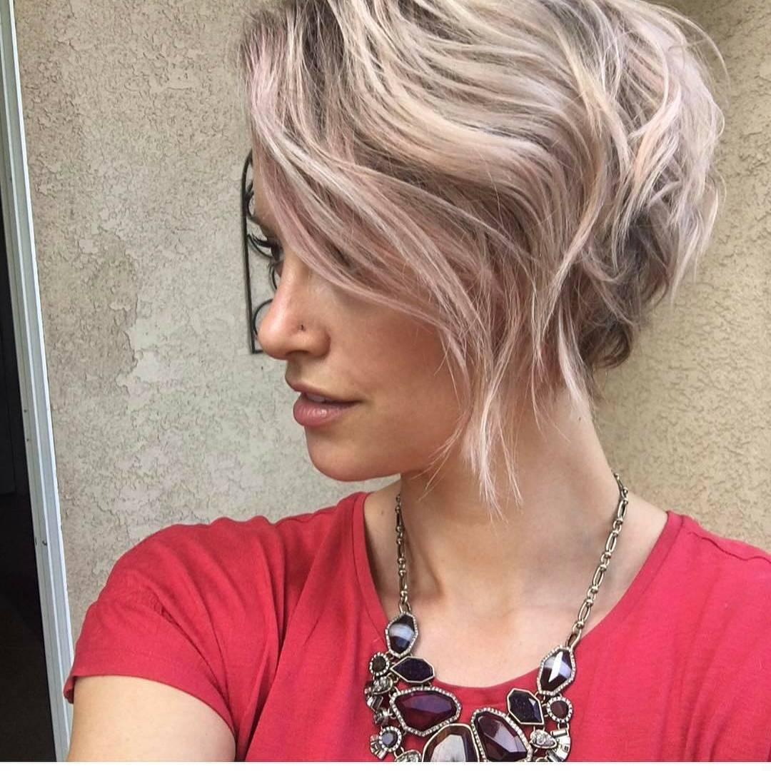 Chic Short Hairstyles for Thick Hair, Women Short Haircut 2018