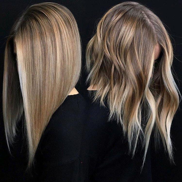 10 Wavy Haircuts For Medium Length Hair 2020