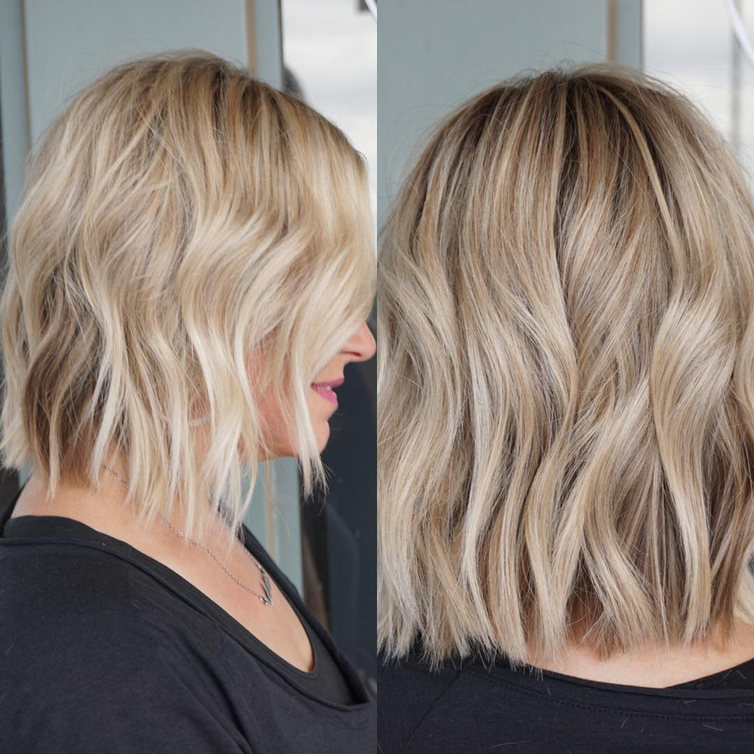 10 Wavy Haircuts for Medium Length Hair 2020