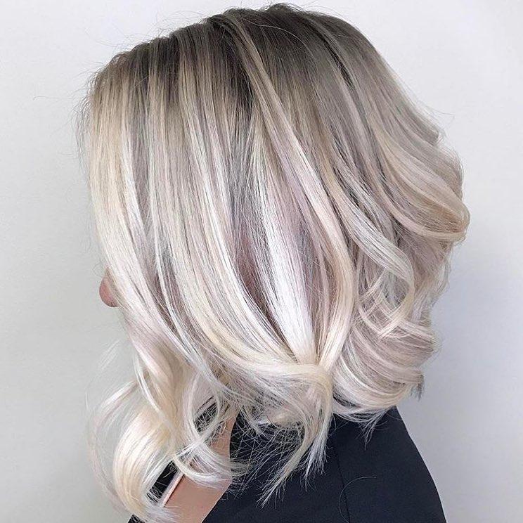 Most Popular Wavy Haircuts for Medium Length Hair, Medium Hairstyles 2018