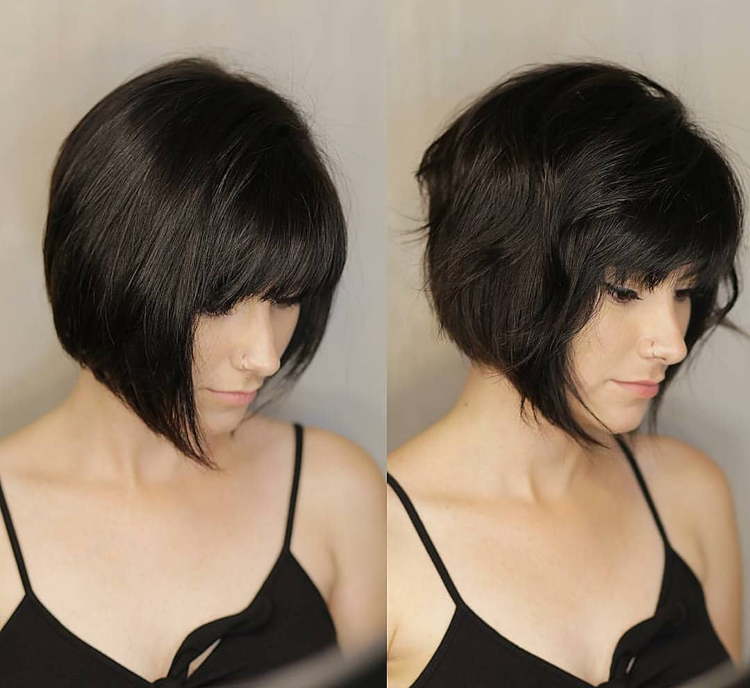 10 Fab Short Hairstyles With Texture Color 2019