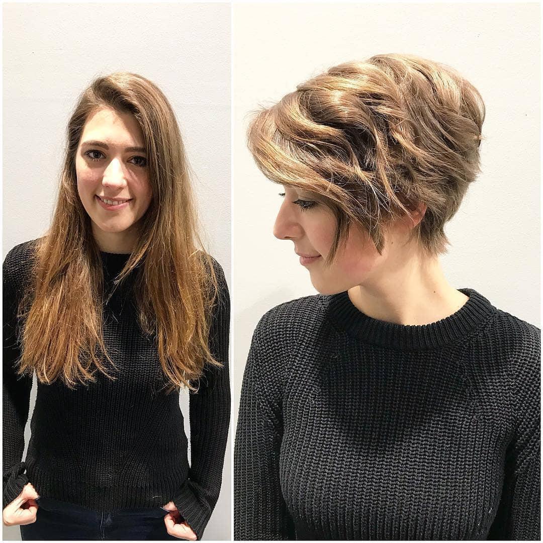 Stylish Pixie Haircut, 2018 Best Short Hair Styles for Women