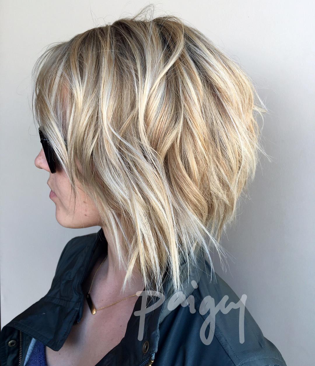 10 super cute and easy medium hairstyles, 2018 women medium haircut