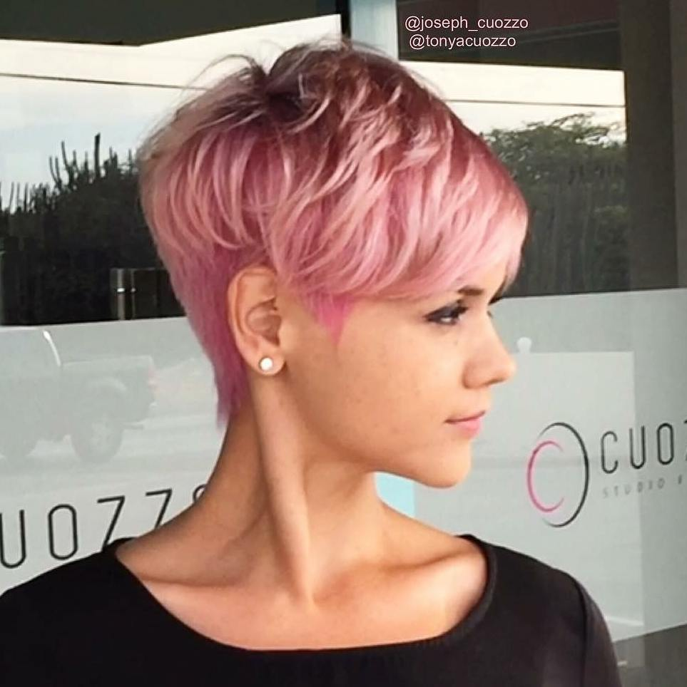 Trendiest Pixie Haircut for Women, 2018 Summer Short Hairstyle Ideas