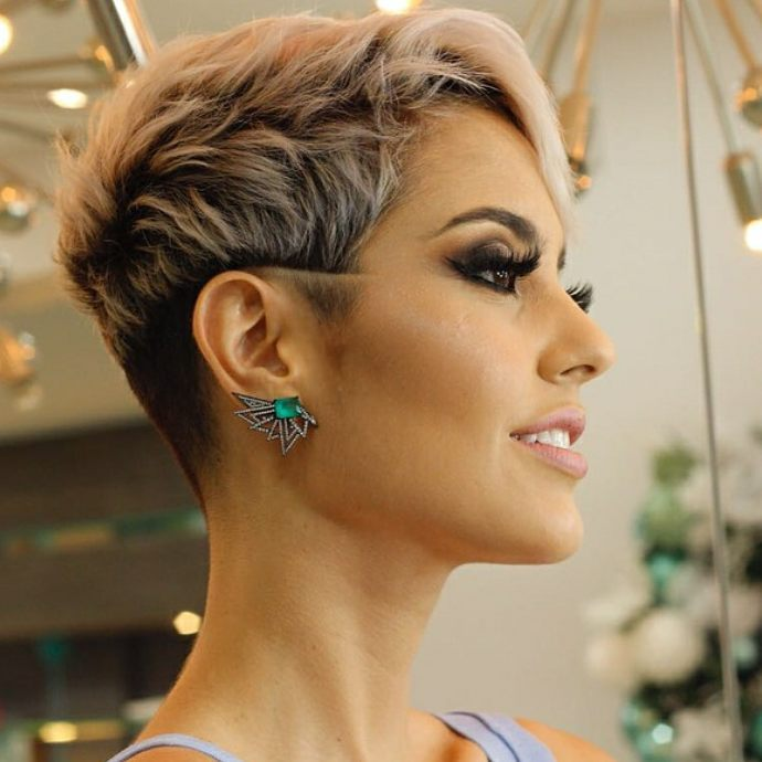 10 Daring Pixie Haircuts For Women Short Hairstyle And Color 2019