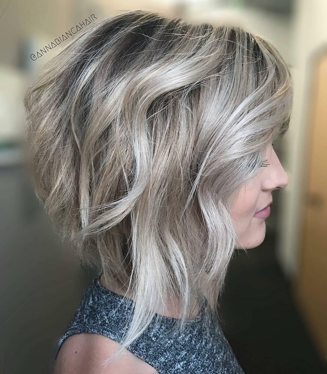 10 stylish medium bob haircuts for women - easy-care chic