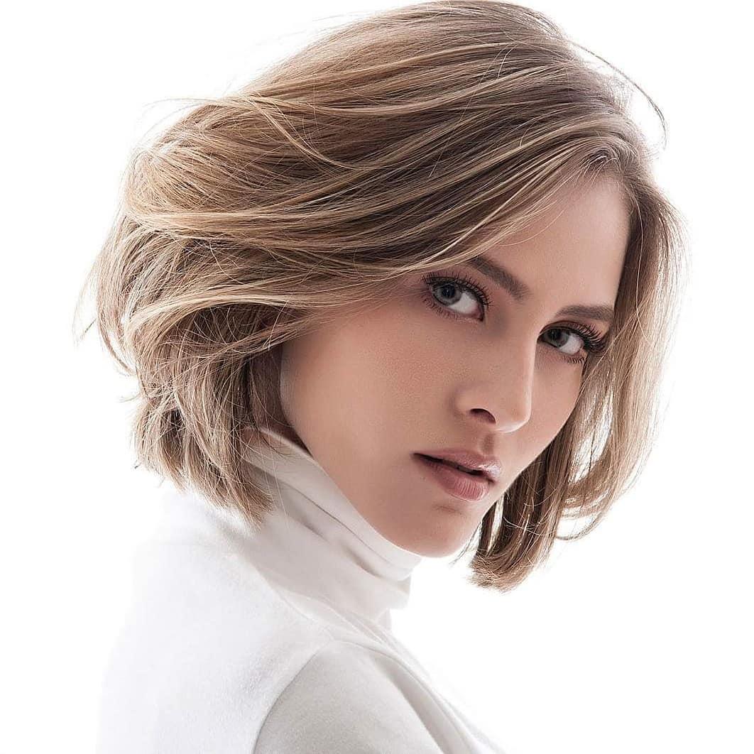 10 medium bob haircut ideas, casual short hairstyles for women 2019
