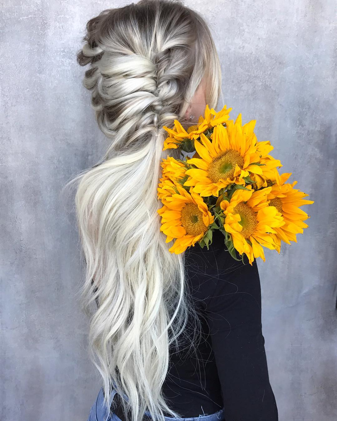 hair styles for girls long hair 10 braided hairstyle ideas for weddings 9304 | messy braided hairstyle with long hair women long hairstyles for summer 1