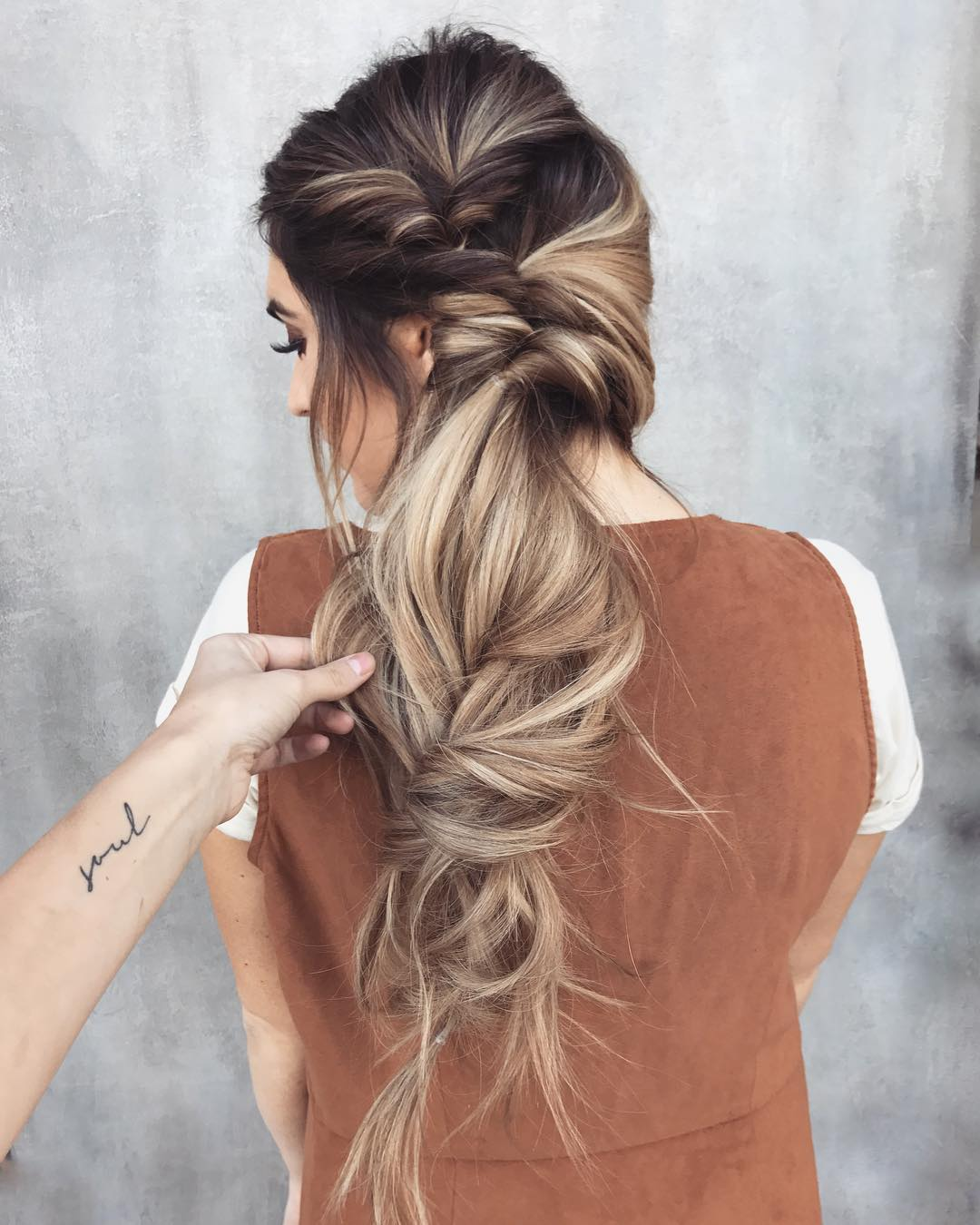 Braided Wedding Hair: 10 Messy Braided Long Hairstyle Ideas For Weddings