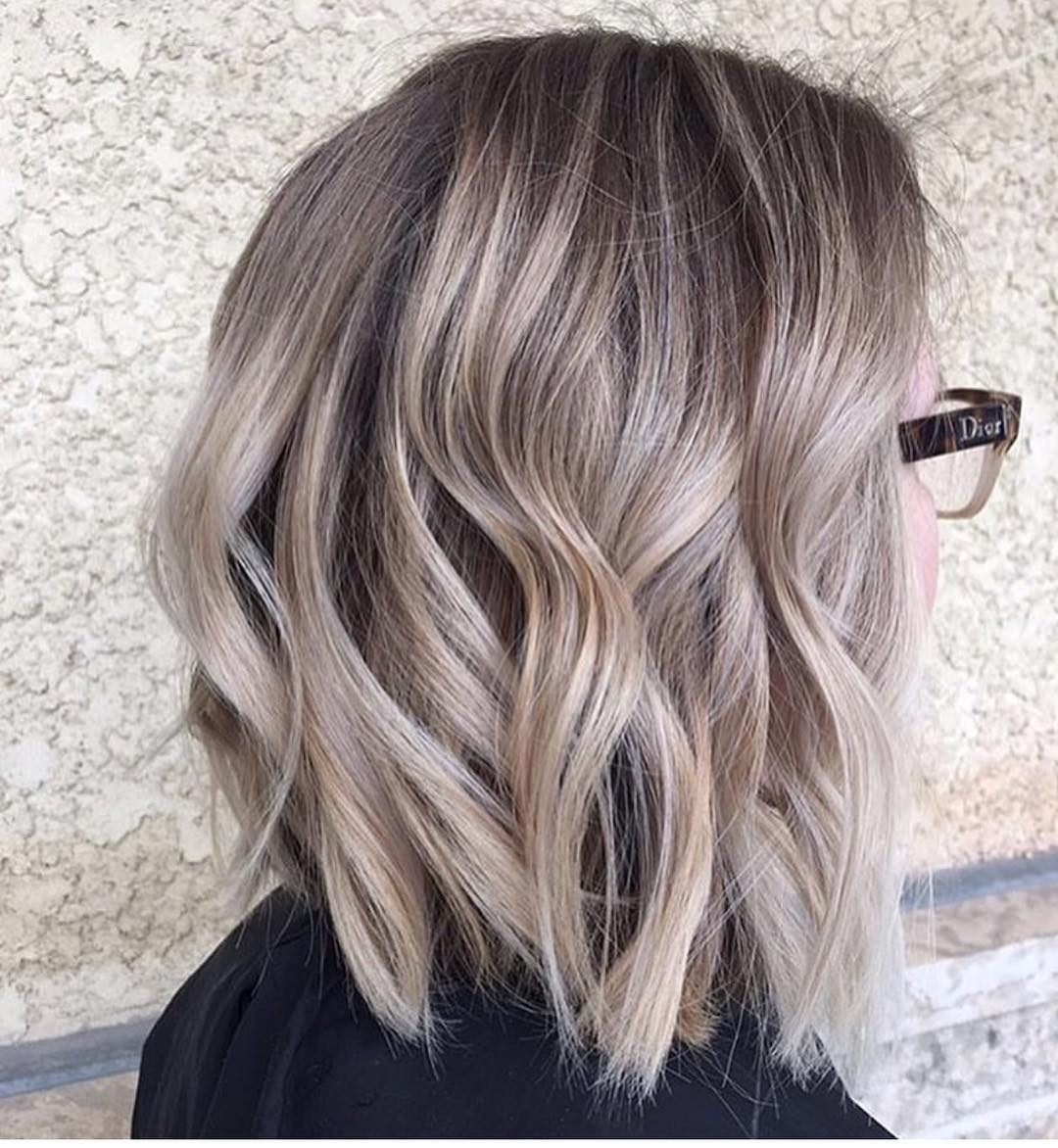 10 Balayage Ombre Hair Styles For Shoulder Length Hair Women Haircut 2021