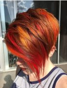 Stylish Asymmetrical Short Pixie Haircuts and Hairstyles, Women Short Hair Style Ideas