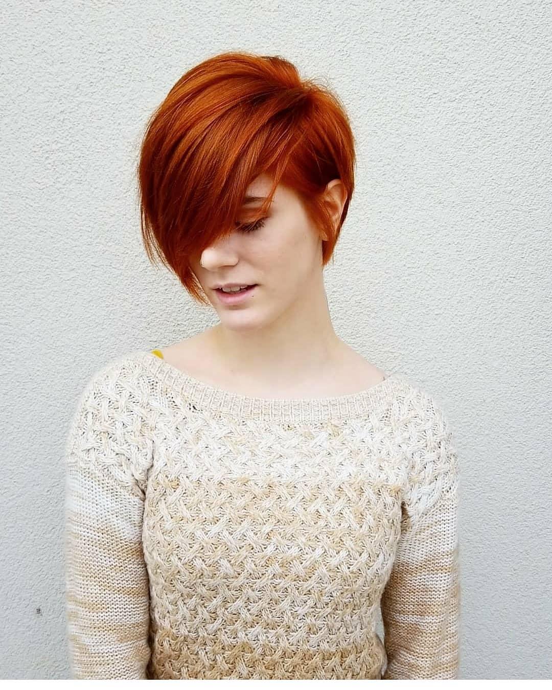 Stylish Asymmetrical Short Pixie Haircuts and Hairstyles, Women Short Hair Style Ideas