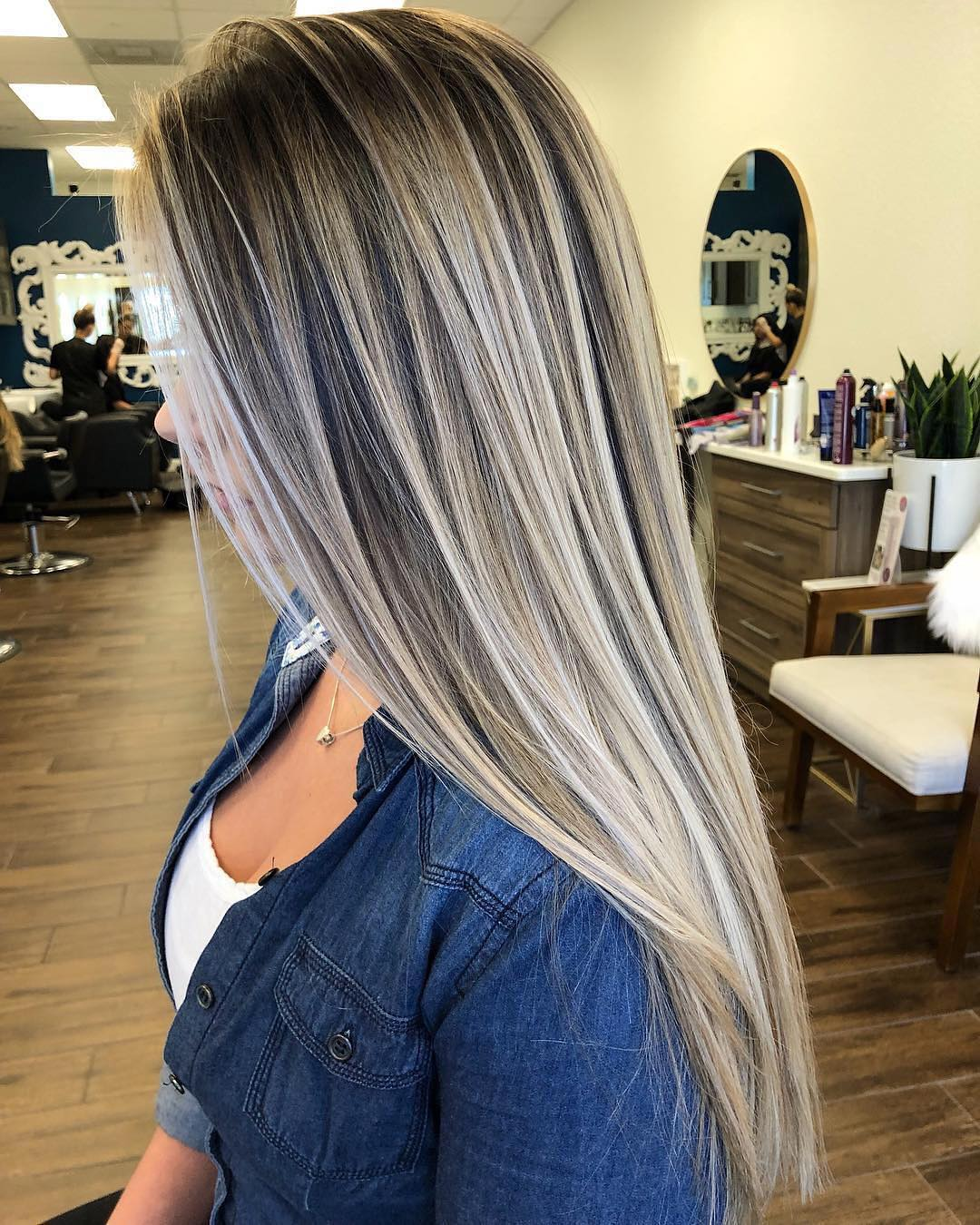 10 Balayage Ombre Long Hair Styles From