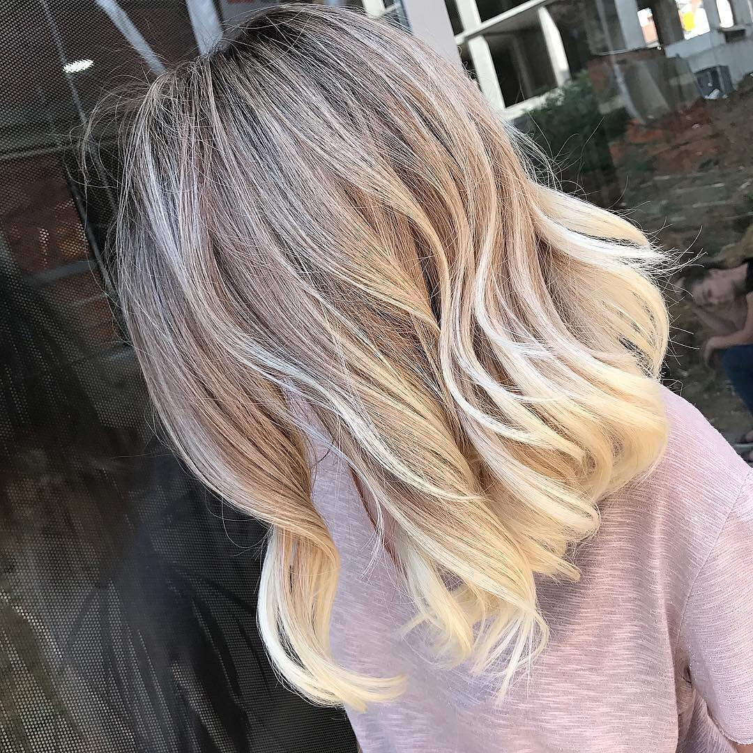 Stylish Ombre Balayage Hairstyles For Medium Length Hair Medium Hairstyle Color Ideas Popular Haircuts