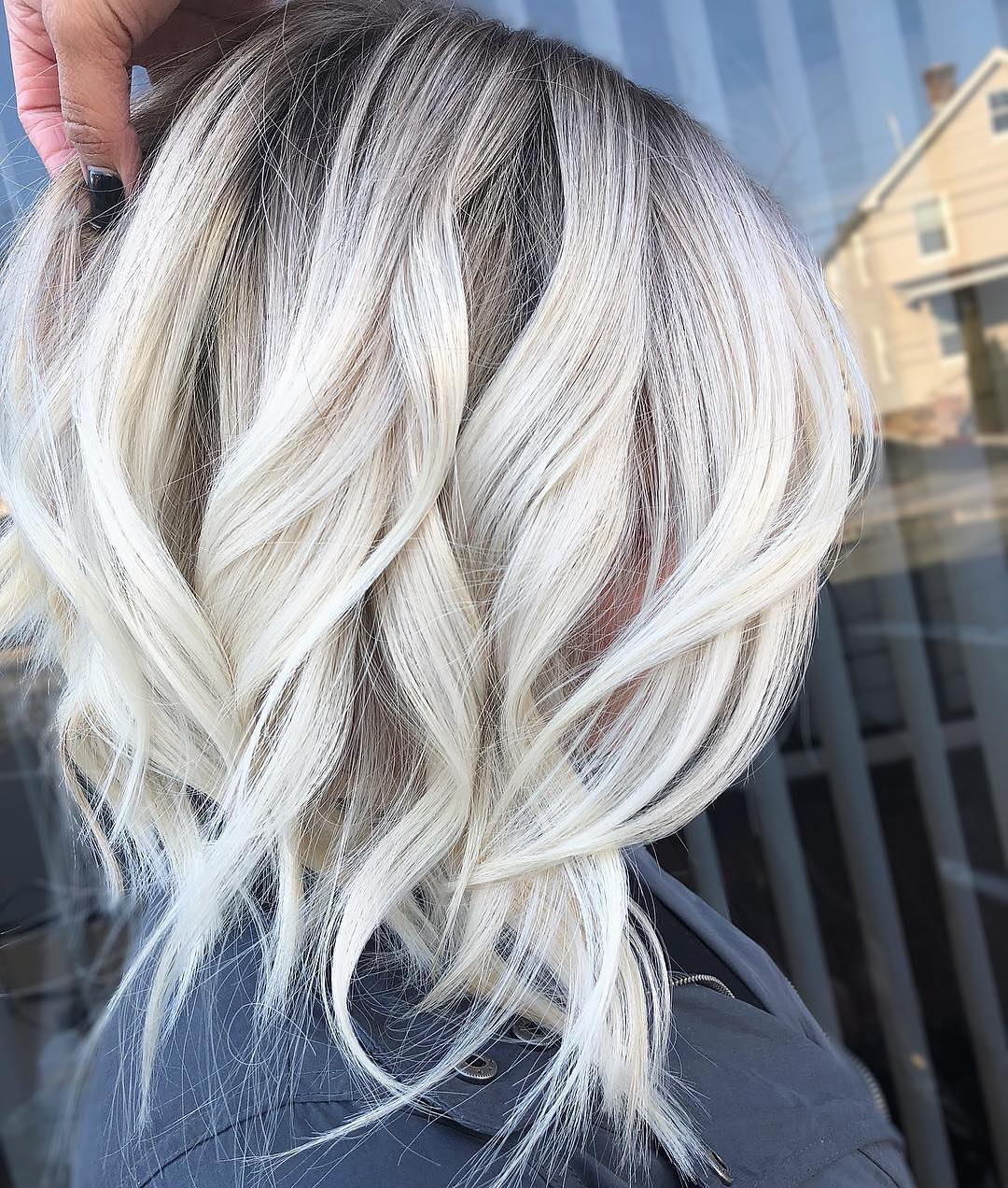 Stylish Ombre Balayage Hairstyles for Medium Length Hair, Medium Hairstyle Color Ideas