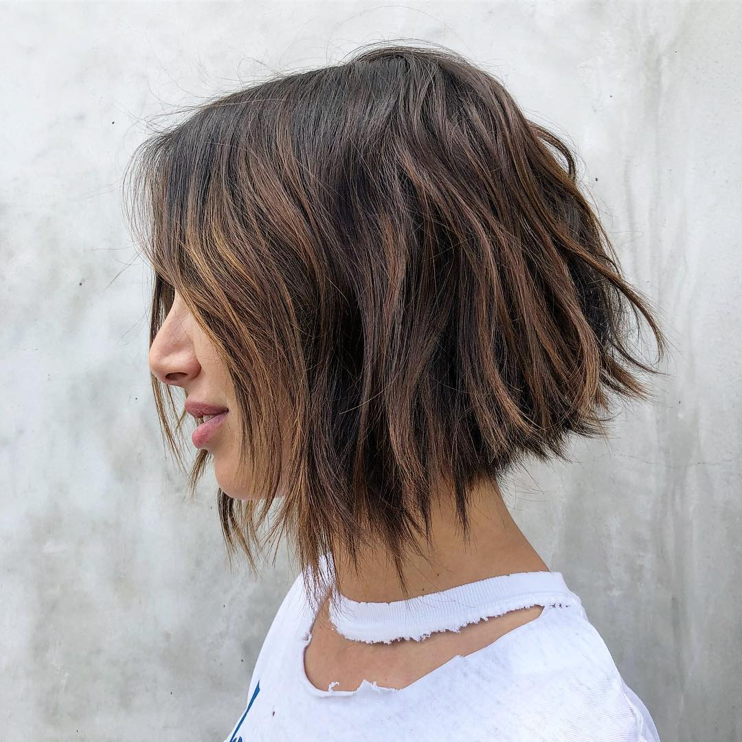 Choppy Low Maintenance Layered Haircuts For Thick Hair 14