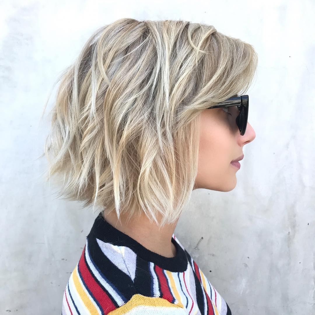 Top 10 Low-Maintenance Short Bob Cuts For Thick Hair
